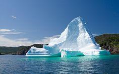 Iceberg in Trinity Bay Newfoundland