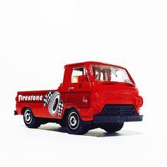 Love this Dodge A100 Truck! #diecastphotography #toycrew #thelamleygroup #dodge #a100 #dodgea100 #hwc #mbx #matchbox #toypics #diecast