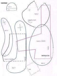 Совместный пошив 8!! Медведь тильда! 1й этап!! / - страница 4 из 8 - BabyBlog.ru