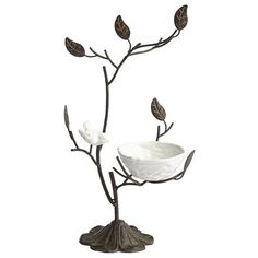 Bird & Nest Jewelry Stand