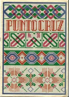 Punto Cruz No 36 - Lima, Peru - Vintage Needlepoint Booklet. $9.00, via Etsy.