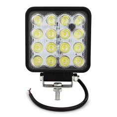 4INCH 48W LED WORK light 12V OFF ROAD 4X4 tractor TRUCK 24V MOTORCYCLE ATV offroad fog lamp 48W LED Working DRIVING LIGHT bulbs *** Detailed information can be found by clicking on the image