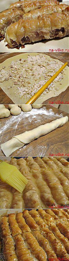 Пахлава турецкая (баклава) - рецепт приготовления восточной сладости с фото