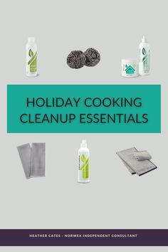 These holiday cooking cleanup essentials will make your cleanup faster, easier and safer so you can get back to arguing with crazy Uncle Time about religion, politics and why his team didn't win the game. #cookingcleanup Direct Sales Tips, Chemical Free Cleaning, Green Life, Organizing Your Home, Marketing Materials, Clean Up, Clean House, Cool Kitchens, Religion