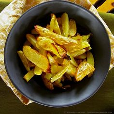 Gems in the Rough: Heirloom Potatoes & Delightfully Crispy Faux French Frites