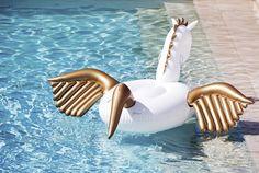 Pegasus unicorn pool toy
