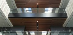 Wood veneer ceiling tiles for noise absorption - stylish, modern & timeless! #interior #design #architecture #sound #noise #innovation #supawood http://www.supawood.com.au/supawood-products/supatile