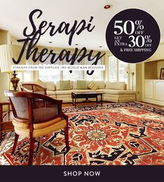 GET YOUR OWN SERAPI: 50% OFF  an Extra 30% off & Free shipping with the code: SERAPI30