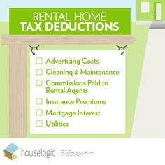 Own a rental property? Know your benefits when tax season rolls around.