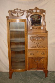 Kb0816800os Oak Secretary Memory Lane Antiques