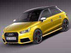 Max Sport Audi S1 - 3D Model
