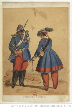Les Vivandières de l'Armée française 1860