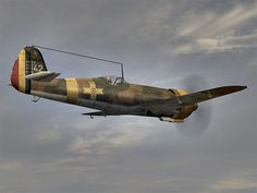 During the Battle of Stalingrad, on 12 September, Grupul 8 Vânătoare IAR 80Bs (along with Grupul 7 Vânătoare's Bf 109s) claimed to have shot down seven Yaks but they lost two IARs.[11] Grupul 8 moved at the end of September, to Karpovka, joining Grupul 7, equipped with Bf 109s.[12] On 12 and 13 December, Grupul 6 used its IAR 81s to support the German counterattack by the Panzergruppe Hoth of the Heeresgruppe Don, from Kotelnikovo towards Stalingrad. Luftwaffe, Ww2 Aircraft, Military Aircraft, Battle Of Stalingrad, Ww2 Planes, Royal Air Force, World War Two, Wwii, Fighter Jets