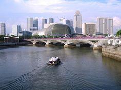 Singapore Malaysia, Modern City, Honeymoon Destinations, Asia Travel, Marina Bay, Southeast Asia, Places To See, Beautiful Places, Skyline