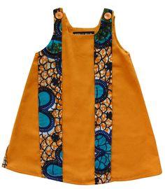 Robe wax Eséka - Estelle Bellin création - de 2 à 8 ans