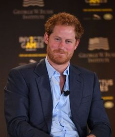 Prince Harry smiles during the Opening Ceremony of the Invictus Games
