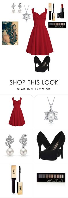 """engagement dinner surprise"" by savannah-elise-beerman on Polyvore featuring Bling Jewelry, Michael Antonio, Forever 21 and NARS Cosmetics"