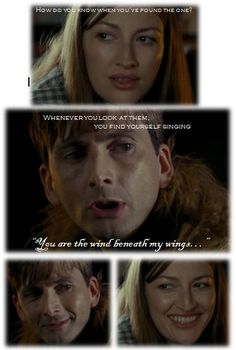 "David Tennant and Kelly Macdonald in ""The Decoy Bride"".... one of the best scenes ever :)"