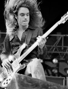 Cliff Burton, founding bassist of Metallica http://www.youtube.com/watch?v=c8qrwON1-zE - Orion - composed by C.B.