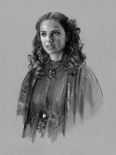 Star Wars - Padme Black Linen by jasonpal.deviantart.com