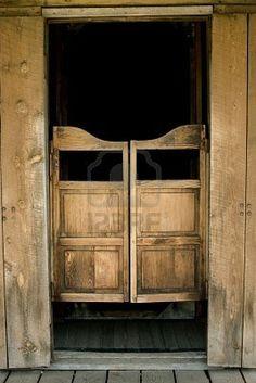 Authentic saloon doors in historic western town, South Dakota - Photo by Natalia Bratslavsky - http://www.123rf.com/photo_6369015_authentic-saloon-doors-in-historic-western-town-south-dakota.html
