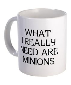 Take a look at this 'What Minions' Mug on zulily today!