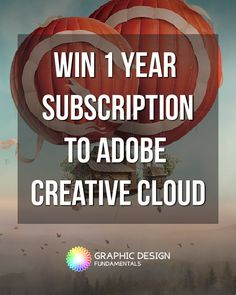 BIG GIVEAWAY!! Limited Time! Win 1 year subscription to Adobe Creative Cloud