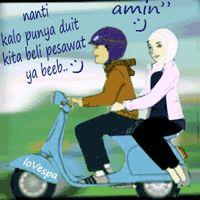30 DP BBM Islam Romantis Bergerak Terbaru Saat Ini