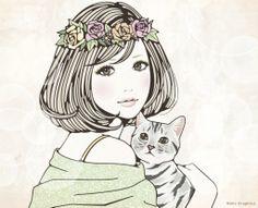 Naho Graphics #kawaii #illustration