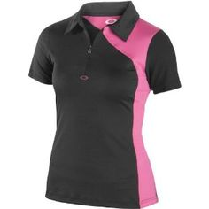 Oakley Spur Polo Women's Short-Sleeve Sports Wear Shirt - Jet Black / Small by Oakley. $60.00. The sporty flair of our SPUR POLO brings the best of colorblock styling, a way of making hues really pop by combining separately colored panels of material. Our designers say the hidden zip closure is the perfect modern detail, and they took performance in the same direction with O-Form technology that's made to move with resilience. Moisture management, antibacterial actio...