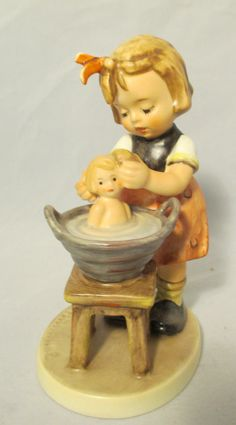 Doll Mother Hummel Figurine 319 by MyRedFlamingo on Etsy, sold