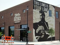 Woody Guthrie Center (all photographs by the author for Hyperallergic unless indicated)