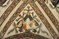 The ceiling frescoes Santa Anastasia, Verona, Fresco, Ceiling, Italy, Painting, Beautiful, Home Decor, Art