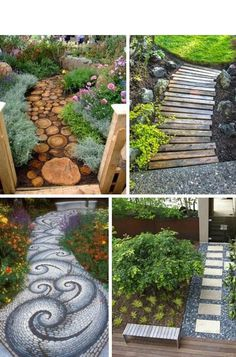 Awesomely adorable garden walkways.