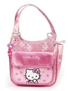 This Hello Kitty purse has a gun pocket on the front! Or at least that's what I would use it for.