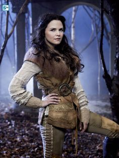 "Once Upon A Time S1 Ginnifer Goodwin as ""Mary Margaret/Snow White"""