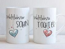 """""""Weltliebste TOCHTER & Weltliebster SOHN"""" - SET"""