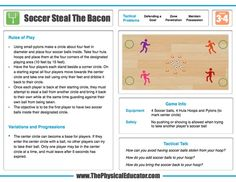 Soccer Steal The Bacon