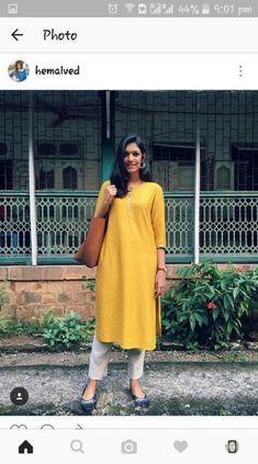 Fashion work summer cardigans ideas for 2019 - Work Outfits Women Indian Formal Wear, Formal Wear Women, Indian Wear, Office Wear Women Work Outfits, Casual Work Outfits, Outfit Office, Dress Casual, Casual Wear, Street Style India