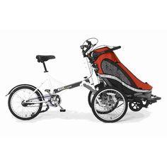 Zigo Leader X2 Carrier Bike (7 Spd) (Orange)