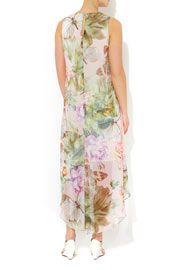 Butterfly Print Chiffon Dress #WallisFashion