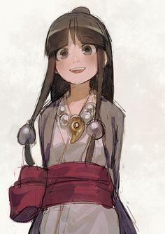 「版権創作ラクガキ」/「aoki」の漫画 [pixiv] Maya Fey