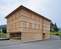Cukrowicz Nachbaur Architekten, Wohnhaus N, Hittisau, Foto Hanspeter Schiess, Außenansicht