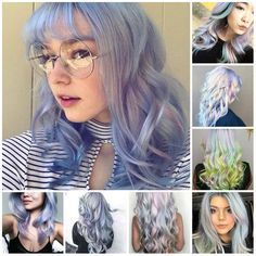 Holographic Hair Color Ideas in 2018
