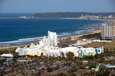 Suncoast Casino across to the Bluff Kwazulu Natal, Homeland, Live, East Coast, San Francisco Skyline, South Africa, Dolores Park, African, Lighthouses