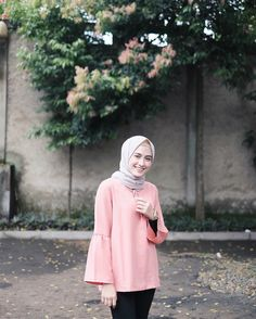 """6,424 Likes, 28 Comments - Amy (@helminursifah) on Instagram: """"Ayla shirt by @distiarzk """""""