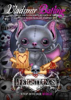 Vladimir Batling poster printed on silk paper. Voodoo Doll Tattoo, Voodoo Dolls, Emo Art, Goth Art, Creepy Art, Creepy Dolls, Scary, Gothic Poems, Gothic Fantasy Art