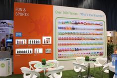 The Flavor Wall - Isotonic, Premium Cola, Energy and more. What's your favorite? The 100, Fun, Funny