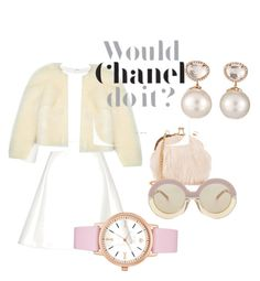 """Chanel"" by estherford ❤ liked on Polyvore featuring Neil Barrett, Derek Lam, Simone Rocha, Samira 13, NLY Accessories, Karen Walker and Kate Spade"