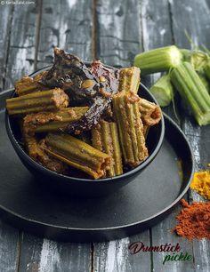 Drumstick Pickle recipe | by Tarla Dalal | Tarladalal.com | #32882